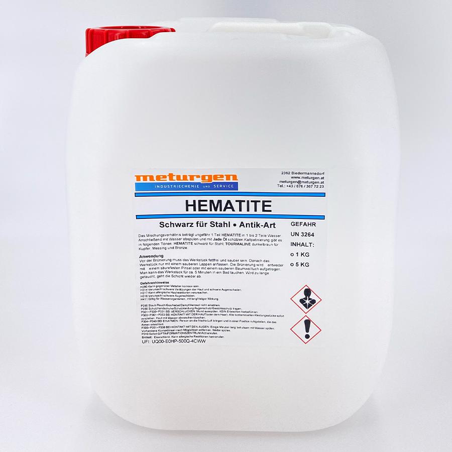 Hematite Brünierung für Stahl