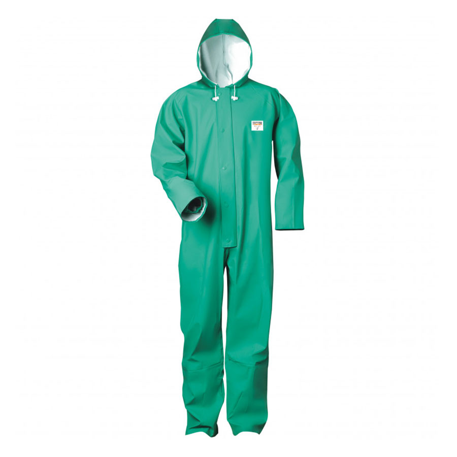 PVC Overall grün